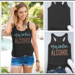 """☀️☀️$10 NEW! """"MAY CONTAIN ALCOHOL""""  ☀️☀️"""